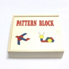 Intelligenz Wooden Building Block Toy - Bunt