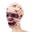 Halloween Party Horrible Mask - Purple + White