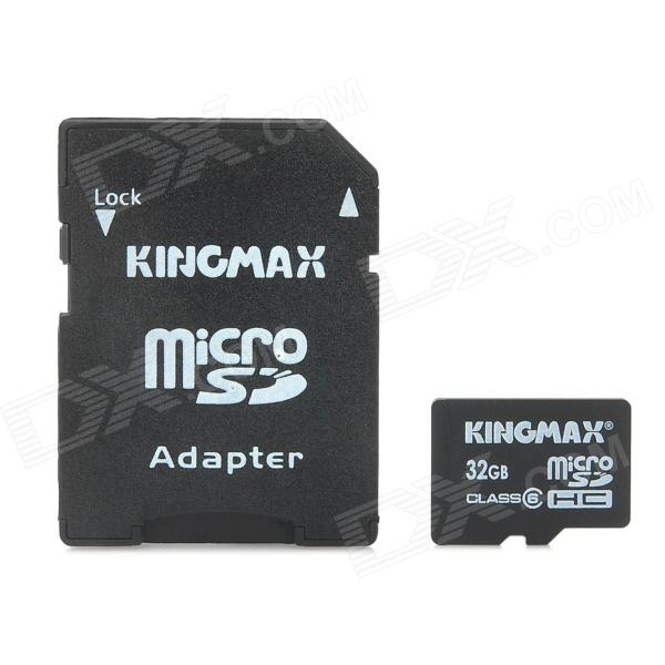 KINGMAX Micro SDHC Card with SD