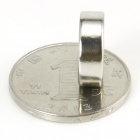 Round Hole NdFeB Magnet - Silver