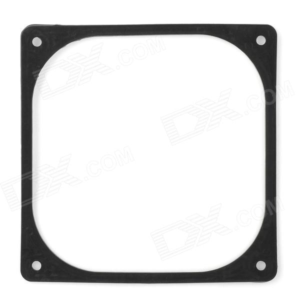 V-12 Desktop Computer Chassis P120 12cm Fan Shock-Reduction Frame Pad - Black