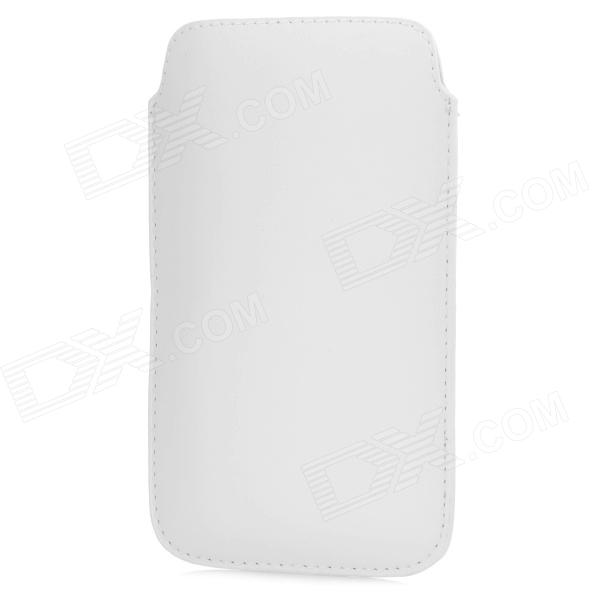 Protective PU Leather Pouch Bag Case for Samsung Galaxy Note 3 - White