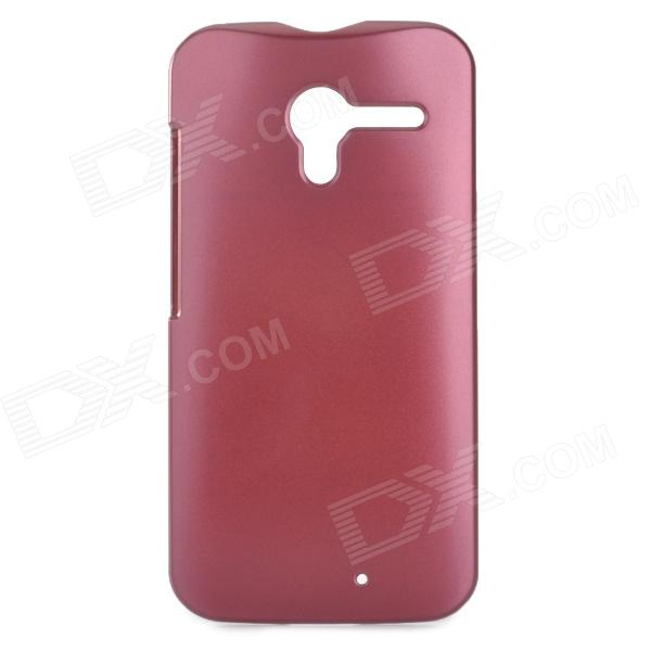 Protective PC Back Case for Motorola X Phone - Dark Purple protective plastic case for motorola razr xt910 yellow