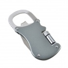 Multi-Function Climbing Steel Carabiner - Silver