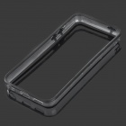 Protective Plastic + TPU Bumper Frame for Iphone 5C - Black + Transparent