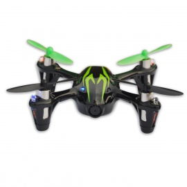 Hubsan X4 H107C 2.4G 4CH R/C Quadcopter With Camera - Black + Green