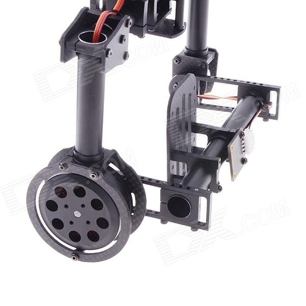 Two axis brushless gimbal camera mount w motor gimbal for Motorized video camera mount