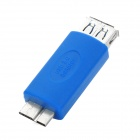 LY-8005 USB 3.0 Female to Micro AB Male Adapter - Blue