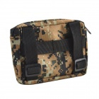 800D Waterproof Fabrics Outdoor Accessories Bag for War Game - Brown Camouflage