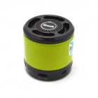 X300 Bluetooth V2.1+EDR Stereo Speaker w/ Microphone / Handsfree - Green + Black