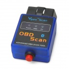 ELM327-K Vehicle Mini Bluetooth OBD-II Code Reader Diagnostic Scanner w/ Switch - Blue + Black