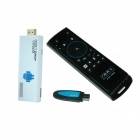 iTaSee QT800 Dual-Core Android 4.2.2 Google TV Player w / 1GB RAM 4GB ROM, F10pro Air Mouse (US-Stecker)
