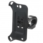 M08 360 Degree Rotation Scooter Bracket for Samsung N7100 - Black