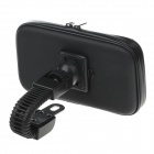 "M08 360 Degree Rotation Scooter Bracket w/ PU Leather Waterproof Bag for i9200 / 6.3"" Mobile Phone"