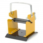 WLXY WL-206 Soldering Solder Reel Wire Holder Rack - Yellow + Silver + Black