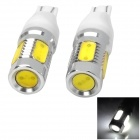 LY392 T15 6W 200lm 6000K 4-LED weißes Auto Backup-Lampen (12V / 2 PCS)