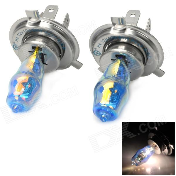HOD H4 100 / 90W 1950lm 3500K Warm White Car Halogen Lights (12V / 2 PCS)