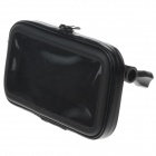 M07 360 Degree Rotation Bracket w/ Waterproof PU Leather Bag for N7100 / i9220 - Black