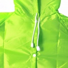 Cute Frog Style Children's Raincoat - Green (for 90~130cm Kid)