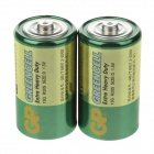 GP 13G R20S D 1.5V Super Heavy Duty Batteries - Green (2 PCS)