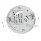 "WUS-THD-Y-2835 3W 180lm 6500K 15-SMD2835 White Light 2"" Circular Ceiling Lamp - White (AC85-265V)"