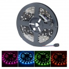 Waterproof 4-Pin 36W 1400lm 150-SMD 5050 LED RGB Light Car Decoration Lamp Strip - Black (5m)