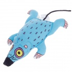 Cute Mouse Style Catnip Pet Cat Toy - Multicolored