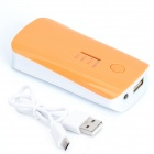 BP High-Quality Portable 5200mAh Mobile Power Bank for Iphone 5S / Samsung / HTC - Orange