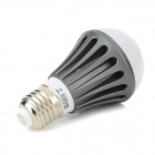 YP-QP-5W-NBG-01 5W 150lm 3300K 10-SMD 5730 LED Warm White Light LED Bulb - White + Grey + Silver