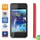 "CUBOT GT72  Dual-Core Android 4.2 GSM Bar Phone w/ 4.0"" Screen, Wi-Fi, GPS and Dual-Band - Red"