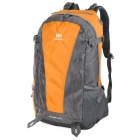 Naturehike-NH Convenient Outdoor Sporty Water Resistant 420D Nylon Backpack - Orange + Gray (45L)
