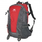 Naturehike-NH Convenient Outdoor Sporty Water Resistant 420D Nylon Backpack - Red + Gray (38L)