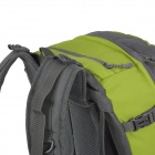 Naturehike-NH Convenient Outdoor Sporty Water Resistant 420D Nylon Backpack - Green + Gray (38L)