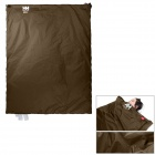 NatureHike Convenient Outdoor Water Resistant 320D Nylon + TC Cotton Sleeping Bag - Brown