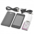 "CUBOT GT72 kaksiytiminen Android 4.2 GSM bar puhelin w / 4.0"" screen, wi-fi, GPS ja dual-band - white"
