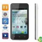"CUBOT GT72  Dual-Core Android 4.2 GSM Bar Phone w/ 4.0"" Screen, Wi-Fi, GPS and Dual-Band - White"