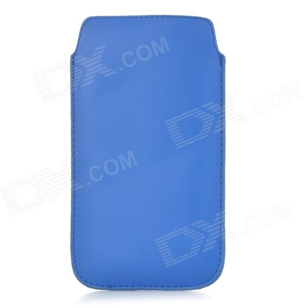 Protective PU Leather Pouch Bag Case for Samsung Galaxy Note 3 N900 - Blue