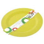 ALOCS TW-412 Outdoor Natural Bamboo Plate - Green