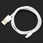 USB Male to 8 Pin Lightning Data Charging Cable for iPhone 5c + iPad Mini - White (1M)