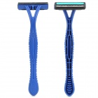 DORCO MS50-B Replacement Manual Shaver Razor Dual-Layer Blade Heads Set w/ Holder