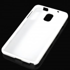 Polka Dot Style Protective TPU Back Case for Samsung Galaxy Note 3 N9000 - White + Black