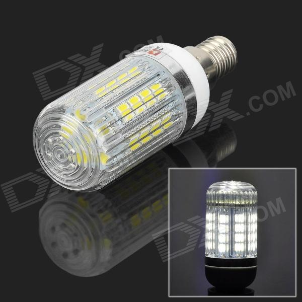 LeXing LX-YMD-073 E14 3.5W 300lm 7000K 34-SMD 5050 LED White Light Bulb (220~240V) lexing lx lzd 3 e14 3w 200lm 7000k 6 smd 5730 led white light bulb 85 265v