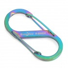 Niteize SB2-03-07 Stainless Steel S-biner Key Ring - Multicolored (4.5kg Max.)