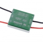 1.2G 5.8G Micro BEC w/ CNC Enclosure 12V 3A Output 4S-6S for FPV - Green
