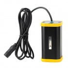 UltraFire 4400mAh Rechargeable Li-ion 4-18650 Battery Pack - Black + Yellow