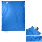 NatureHike Convenient Outdoor Water Resistant 320D Nylon + TC Cotton Sleeping Bag - Blue