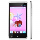 "TIMMY E128 MTK6572 Dual-Core Android 4.2 GSM Bar Phone w/ 4.5"", 512MB RAM, 4GB ROM, Dual-SIM - White"