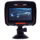 "Waterproof IPX7 4.3"" Car Motorcycle GPS Navigation System w/ 4GB Internal Memory / Brazil Map / TF"