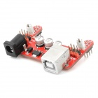 OPENJUMPER OJ-XM1144 PCB Breadboard Power Module - Red + Silver