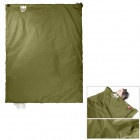 NatureHike Convenient Outdoor Water Resistant 320D Nylon + TC Cotton Sleeping Bag - Army Green